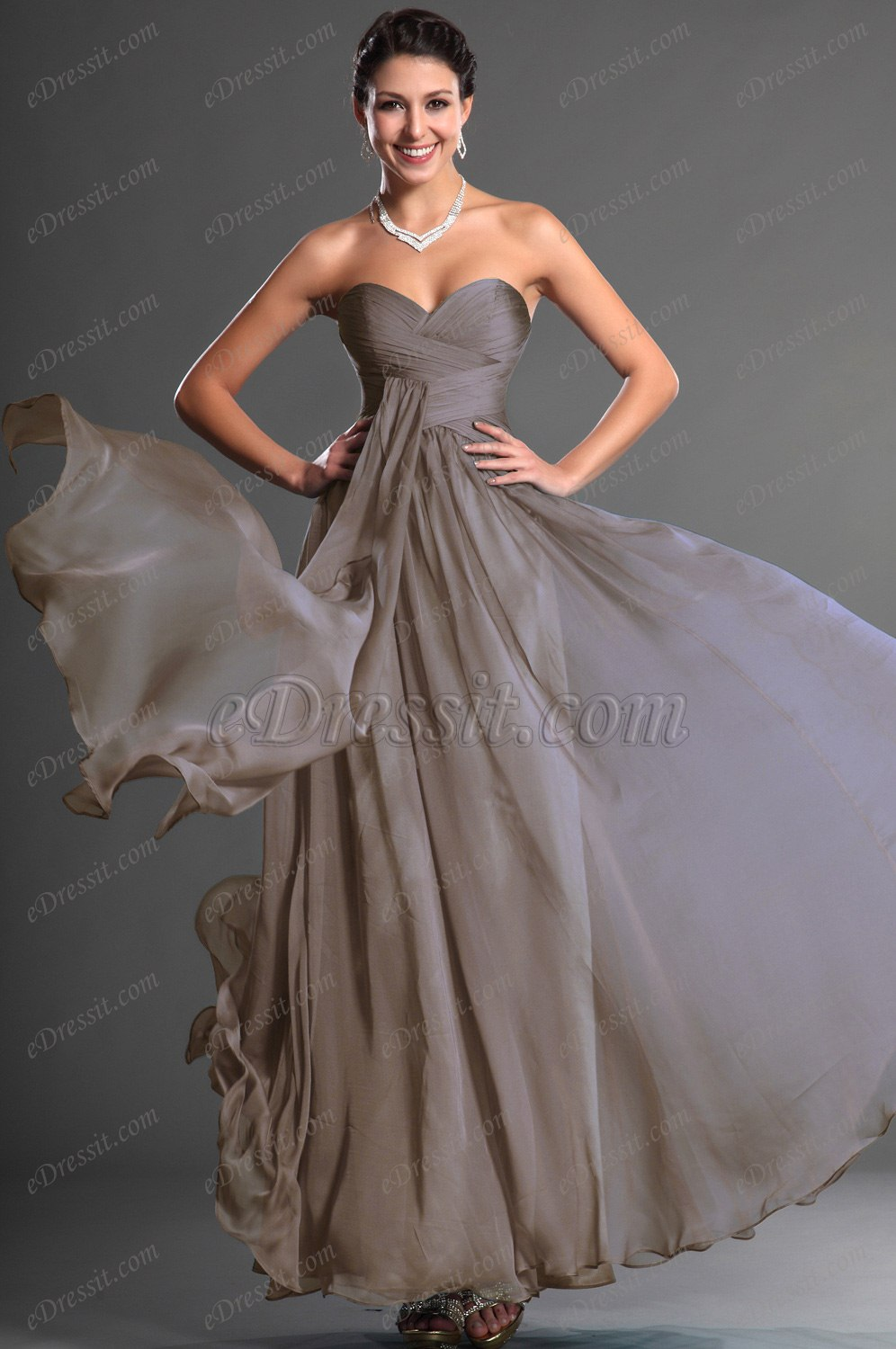 Clearance Sale ! eDressit Sweety Strapless Evening Dress (00129005B)