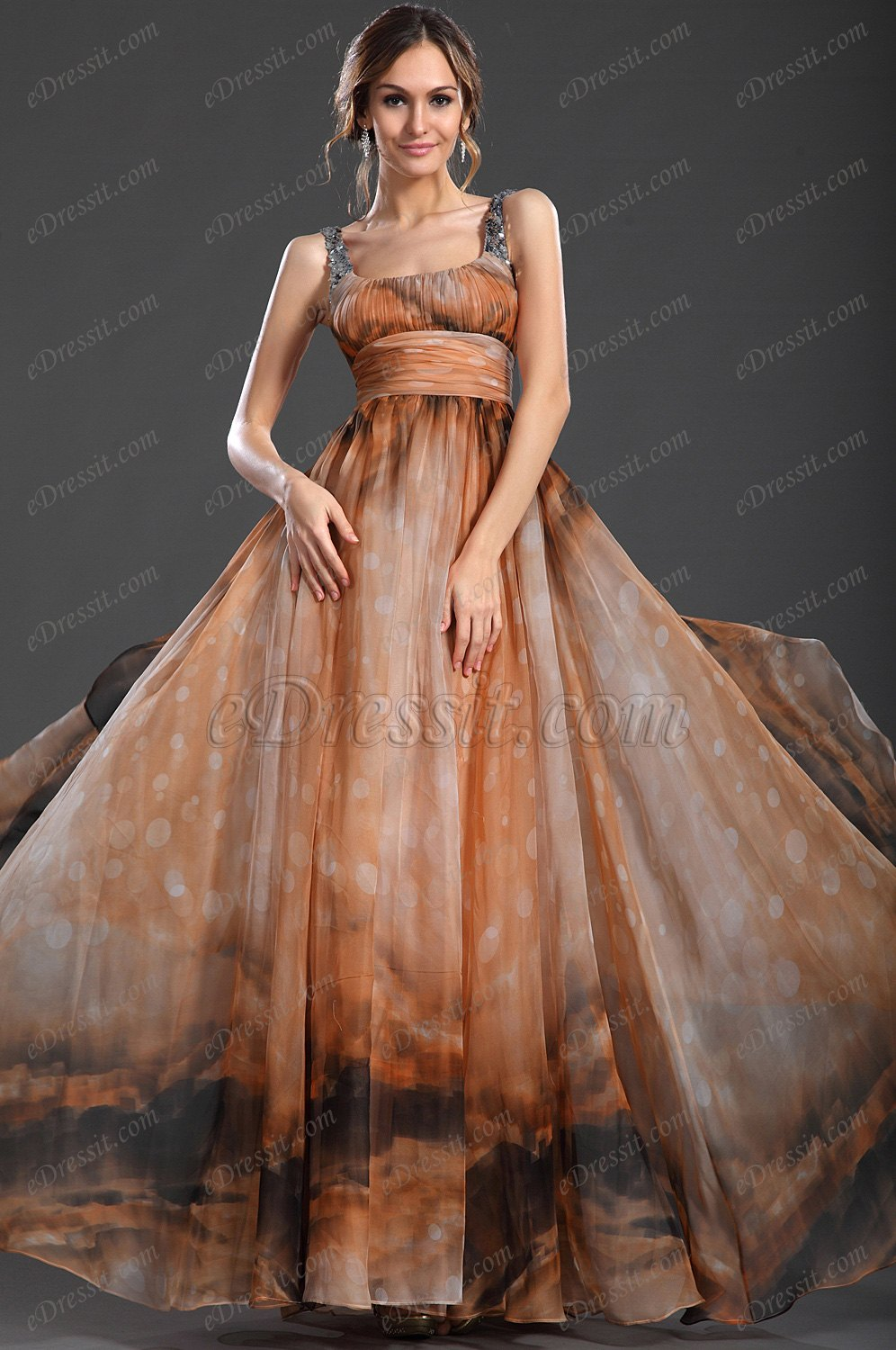 eDressit New Gorgeous Straps Multi-color Evening Dress ONLY One Piece (00092410)