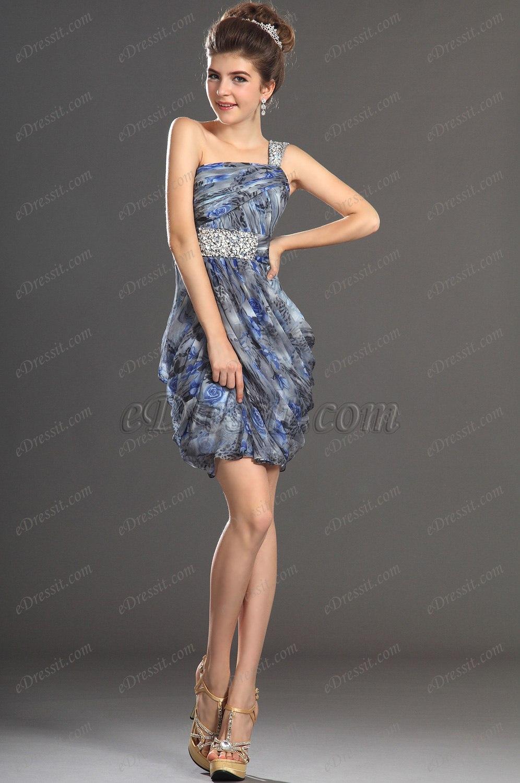 eDressit 2013 Neu Artikel Ein Schulter Stilvolles Design  Cocktail Abendkleid Ballkleid (04130368)