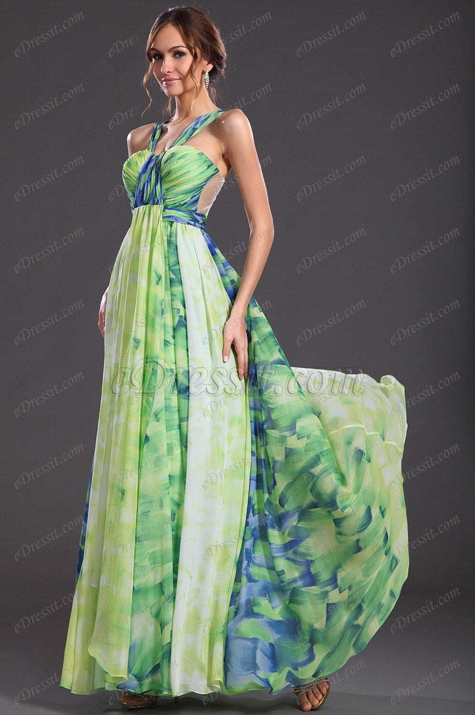 eDressit New Gorgeous Printed Fabric Evening Dress (00127368)
