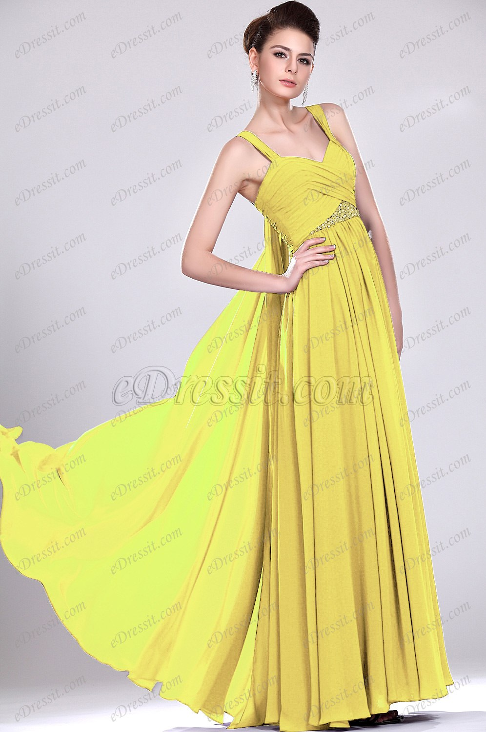 Clearance Sale !eDressit Elegant Evening Dress with Straps (00119106B)