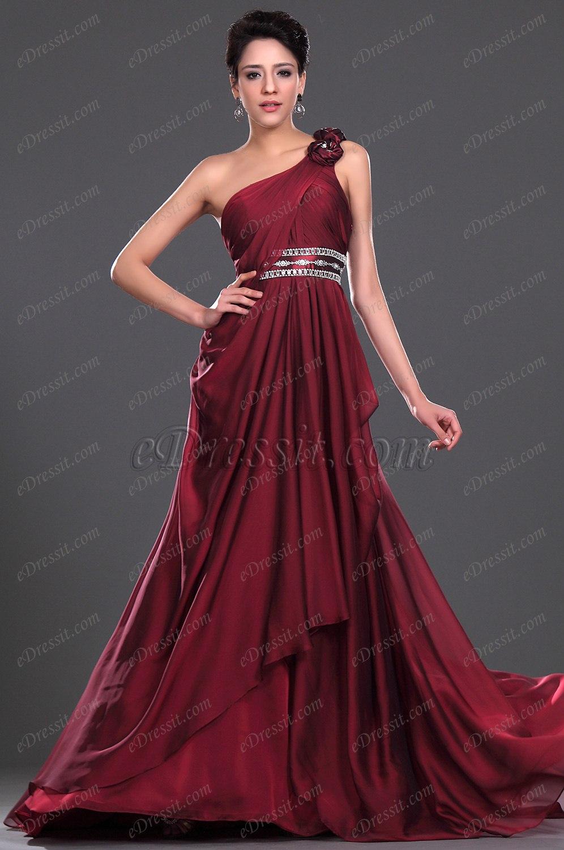 Clearance Sale ! eDressit Stunning One Shoulder Evening Dress (00116617C)