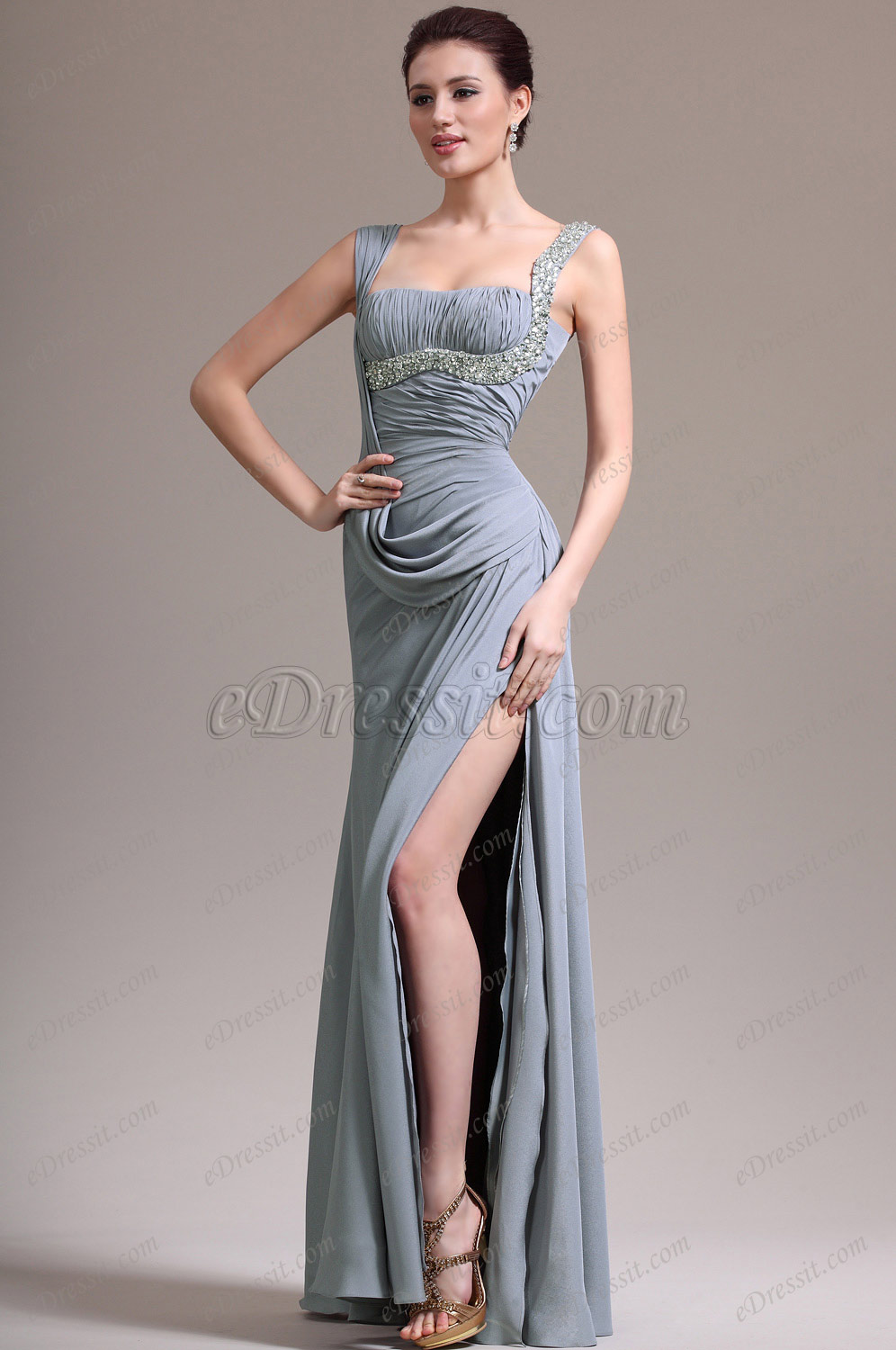 eDressit New Glamouring Shoulder Straps Evening Dress (00136808)