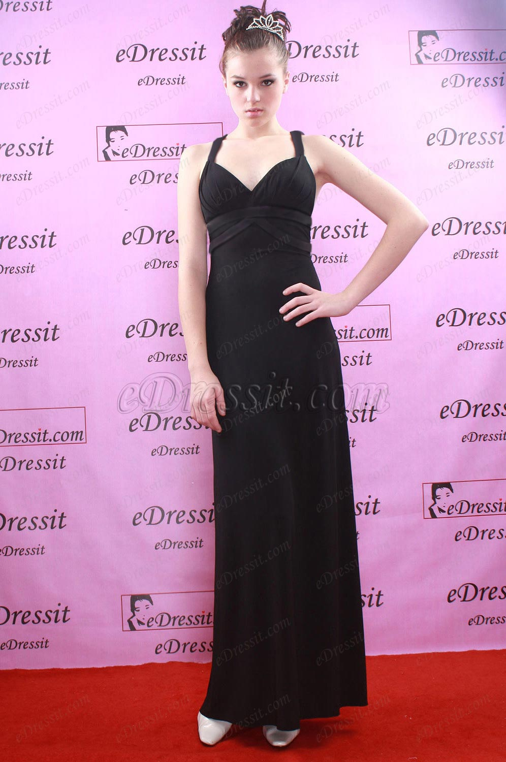 eDressit Black Elegant Prom Gown Evening Dress (W00774100)