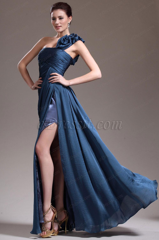 eDressit New Stylish One Shoulder Slit Evening Dress (02132705)