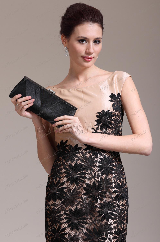 eDressit New Arrival Black Handbag Purse (08130600)