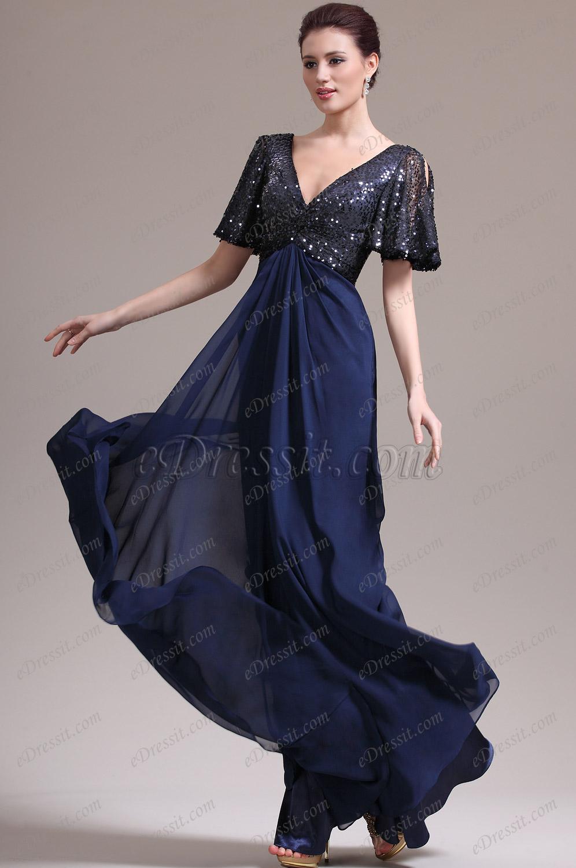 eDressit 2013 Neu Sexy V Ausschnitt Pailletten Kleid für Braut' Mutter (26134805)