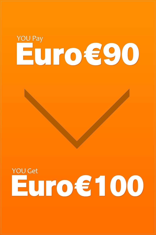 eDressit Prepaid Credit (EURO €100)