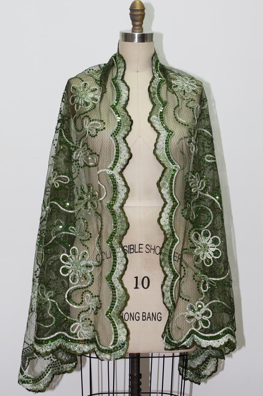 eDressit Châle/Couverture/Boléro Vert Foncé  (14210218