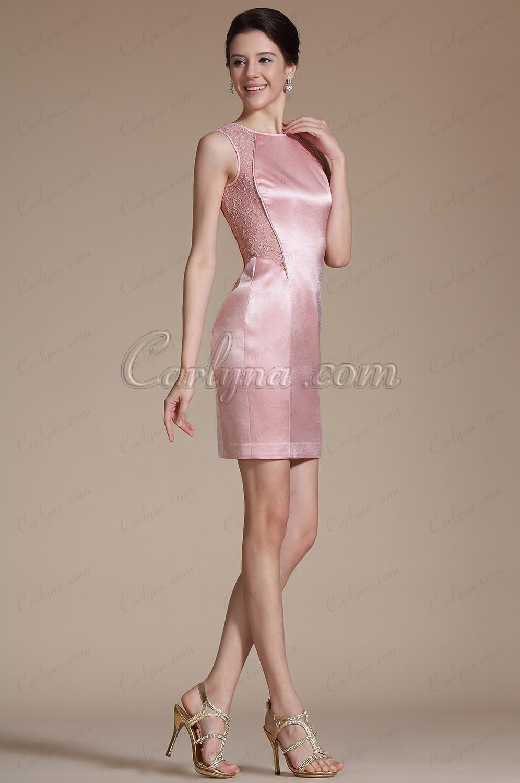 2014 Новое Изящное без Рукавов Платье для Коктейля на Работу (C04141001)
