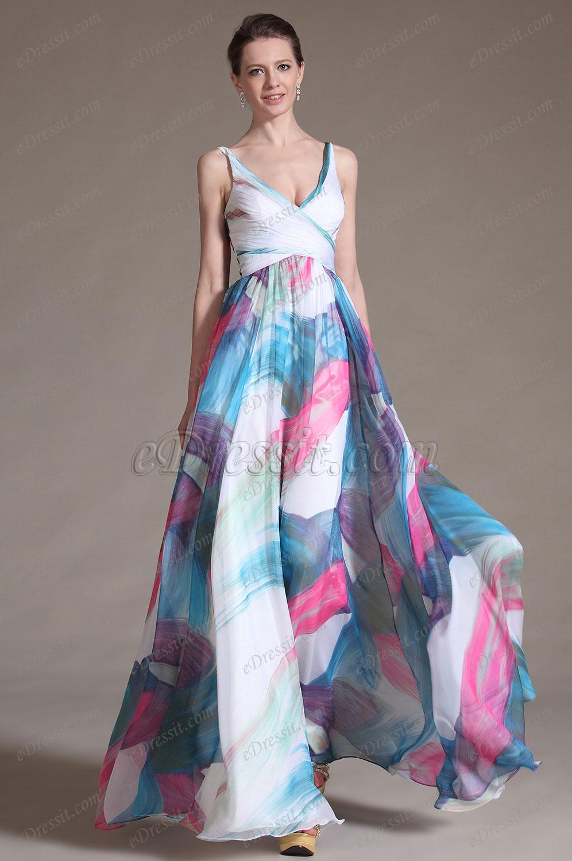 eDressit 2014 Nouveauté Superbe Décolleté V-cut Robe de Soirée (00120812)