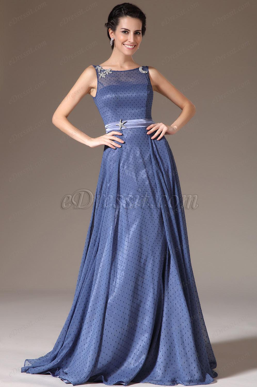 eDressit Sheer Top Mother of the Bride Dress(26145505)
