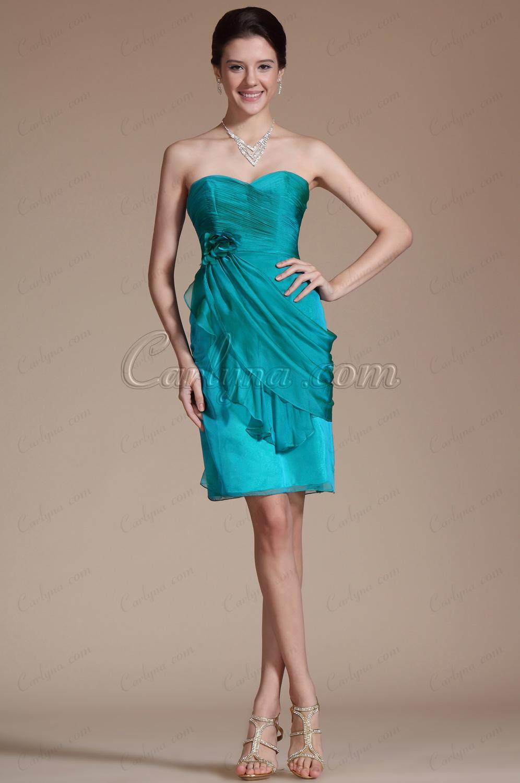 Sweatheart Formfitting Cocktail Dress/Party Dress/Bridesmaid Dress (C35141105)