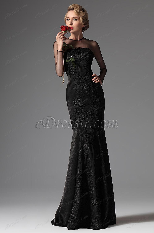 73ef7638cfd вечерние платья с длинным рукавом - Самое интересное в блогах