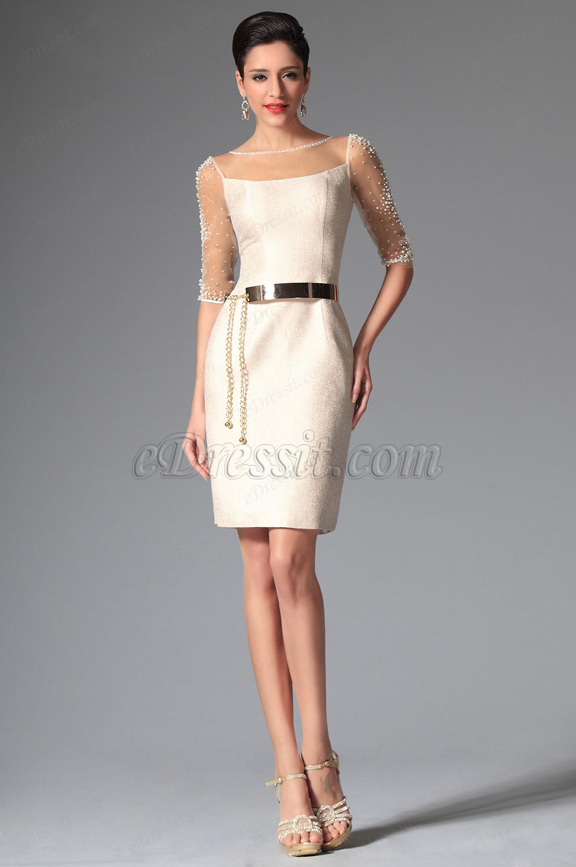 Ma robe de soiree blanche