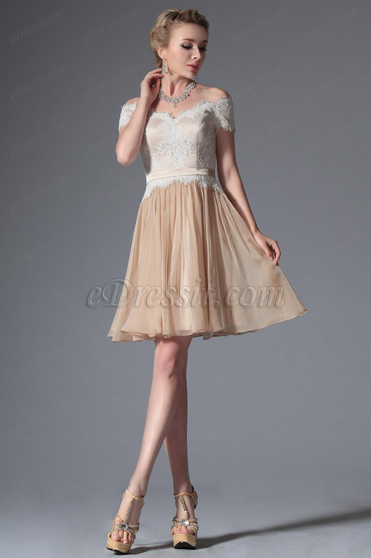 Платье на выпускной средняя длина