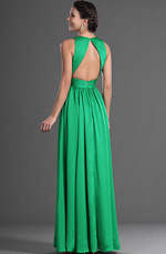 eDressit Green V Cut Sexy Evening Dress (00129204)