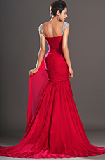 eDressit  Charming Fitted Red Evening Dress (00131002)