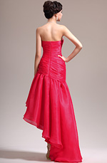 eDressit 2013 New Stylish Strapless Red Asymmetric Evening Dress (00137302)