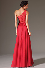 eDressit 2014 New Red One-Shoulder Sweetheart Lace Back Full-length Dress (00143702)