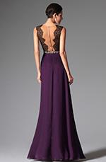 eDressit 2014 Nouveauté Violette Sexy Dentelle Noire Robe de Soirée/Bal/ Gala/Danse (00148906)