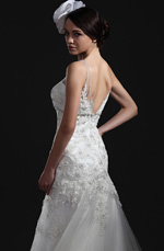 eDressit  New Charming White Lace Wedding Gown (01115107)