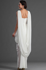 eDressit Sexy V-Cut Neckline Wedding Gown (01121507)