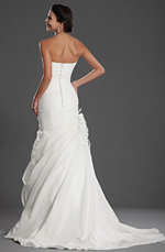 eDressit Alluring Strapless Wedding Gown (01121707)