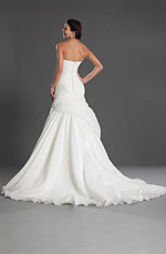 eDressit Graceful Strapless and Sweetheart Wedding Gown (01121807)