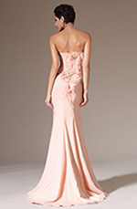 eDressit 2014 New Pink Strapless Mermaid Prom Ball Gown (02144501)