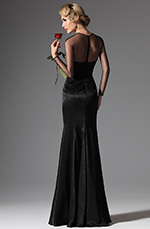 eDressit 2014 Nouveauté Noire Sexy Dentelle Broderie Sirene Robe de Soiree Longue(02145900)