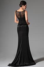 eDressit 2014 Nouveauté Noire Sans Manches Overlace Robe de Soirée Longue(02146400)