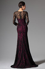 eDressit 2014 New Black Overlace Long Evening Prom Ball Gown (02147112)