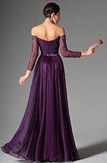 eDressit 2014 New Purple Stylish Off Shoulder Evening Dress Prom Dress (02147406)