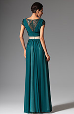 eDressit 2014 New Cap Sleeves Evening Dress Prom Ball Gown (02149305)