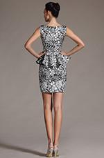 eDressit 2014 Nouveauté Elegant Sans Manche Imprimé Robe de Cocktail/Journée (03141600)