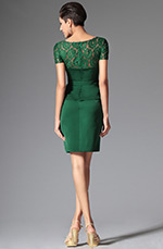 eDressit 2014 New Dark Green One Piece Short Sleeves Day Dress (03143604)