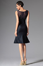 eDressit 2014 New Midnight Blue Bateau Neckline Sleeveless Day Dress Wear to Work (03143905)