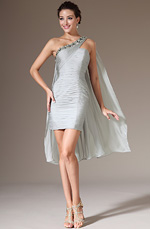 eDressit 2014 New Grey Beaded One Shoulder Party Dress (04140708)
