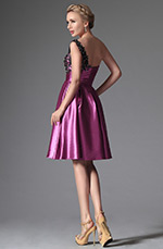 eDressit 2014 New Hot Pink One Shoulder Cocktail Dress Party Dress (04144512)