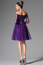 eDressit 2014 New Purple Lovely Off Shoulder Cocktail Dress Party Dress (04145606)