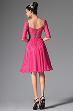 eDressit 2014 New Hot Pink Sweetheart Beadings Cocktail Dress Party Dress (04145812)