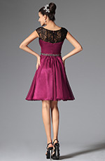 eDressit 2014 New Dark Magenta Cap Sleeves Cocktails Dress Party Dress (04145912)