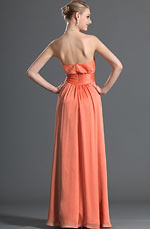 eDressit Sweetheart Orange Bridesmaid Dress (07121310)