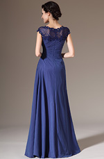 eDressit 2014 New Cap Sleeves Lace Top Mother of the Bride Dress(26141905)