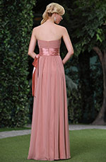 New Simple Pleated Strapless Evening Dress / Bridesmaid Dress (C00119246)