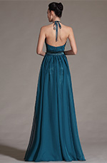 Carlyna 2014 New Halter Sexy Off Back Evening Dress (C00142005)