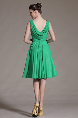 Carlyna 2014 New Green Chic Bowknot Cocktail Dress Party Dress (C04134204)