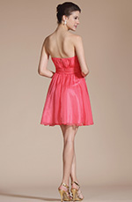 Carlyna 2014 New Graceful Sweetheart Beadings Cocktail Dress/ Bridesmaid Dress (C04140357)