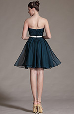 Carlyna 2014 New Sweetheart Strapless Pleated Cocktail Dress Bridesmaid Dress (C07140205)